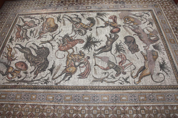 Apamea - Great Hunt Mosaic (Brussels Museum of Art and History)