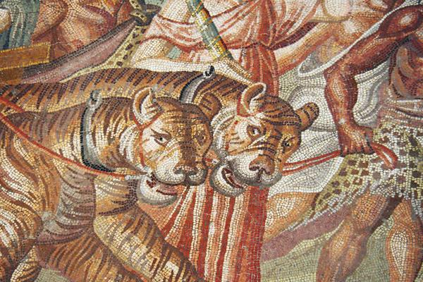 Setif - Triumph of Dionysus Mosaic (Setif Archaeological Museum)