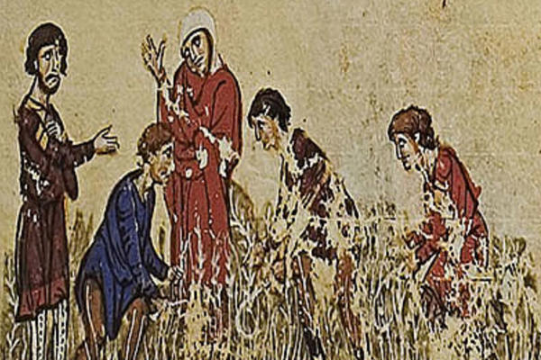 scene from the fields biblioteca nacional de espana codex vitr 26 2 madrid skylitzes fol 82v facsimile edition edited by agamemnon tselikas athens militos