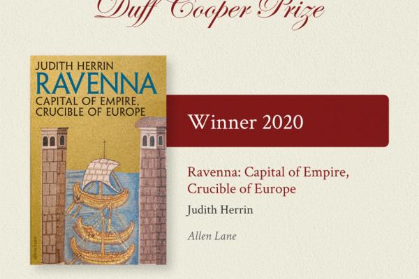 Judith Herrin's Ravenna wins Duff Cooper prize