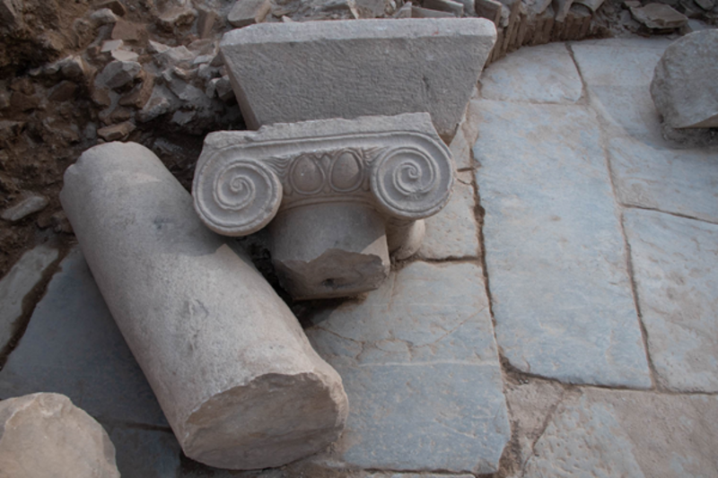 Late Antique architectural decoration at Aphrodisias