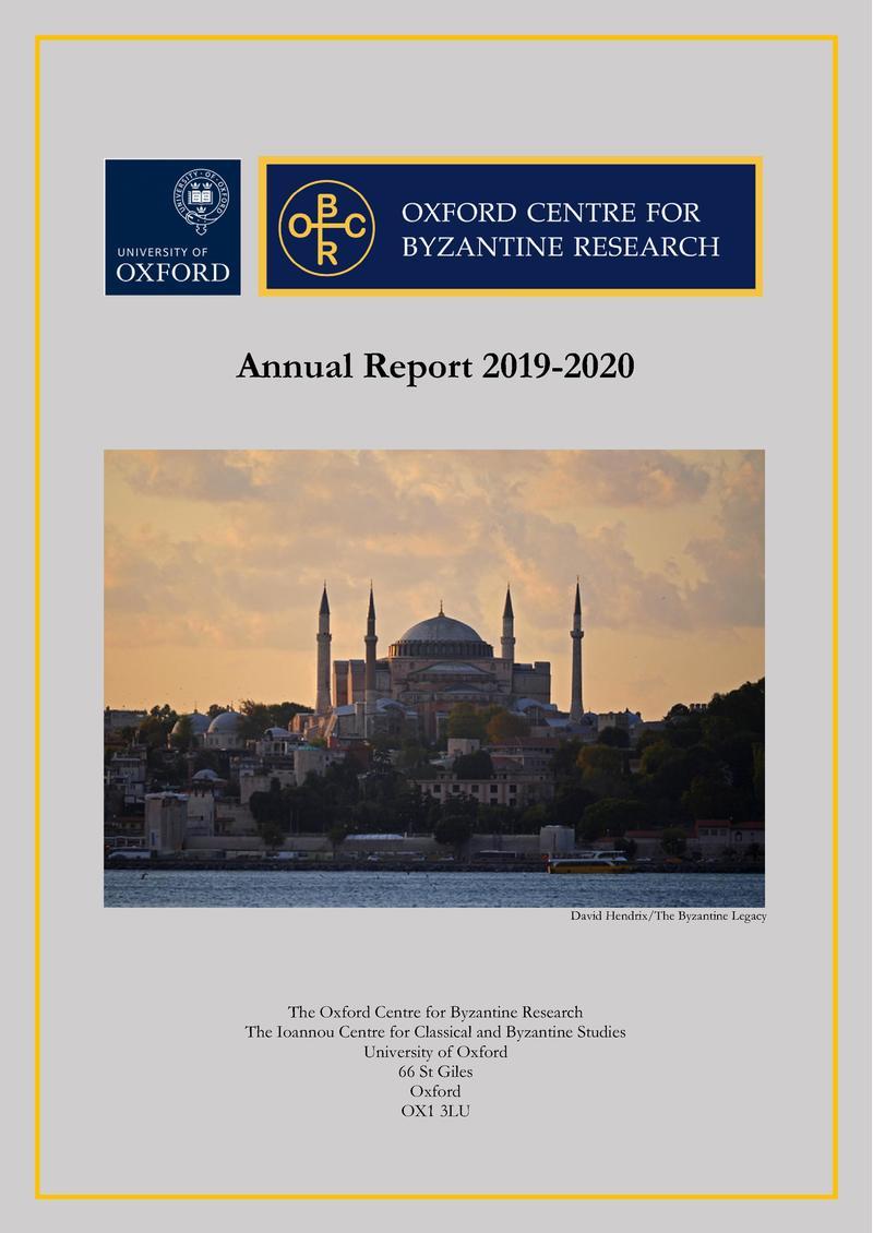 ocbr annual report 2019 20