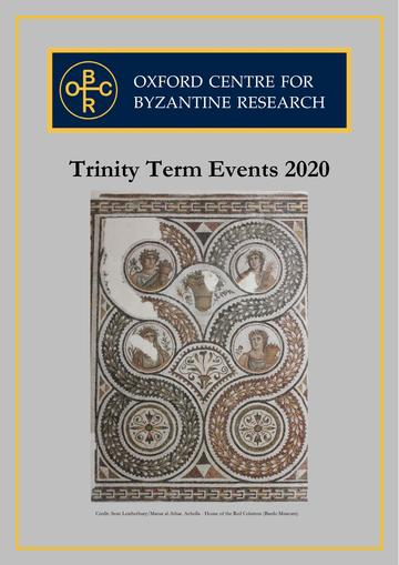 Trinity Term booklet